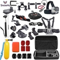 Free Shipping Go pro Accessories kit for gopro hero 5 hero 4 M20 SJ5000 EKEN H9R