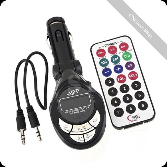 Quantum Car Kit Digital Wireless FM Transmitter MP3 Player Remote Control(China (Mainland))