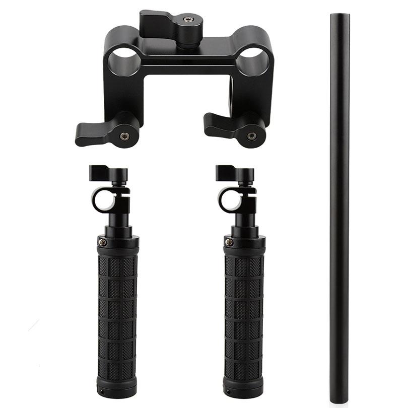 CAMVATE Handle Grip Front Handbar Clamp Mount fr 15mm Rod Support System DSLR Shoulder Rig Photo Camera Accessories C1049 (7)