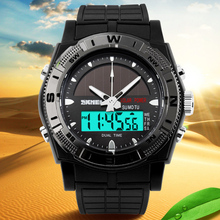 Watches Men Outdoor Military Energy Solar Watch Men's Digital Sports LED Watches Men Solar Power Wristwatch Relojes Montre Homme(China (Mainland))