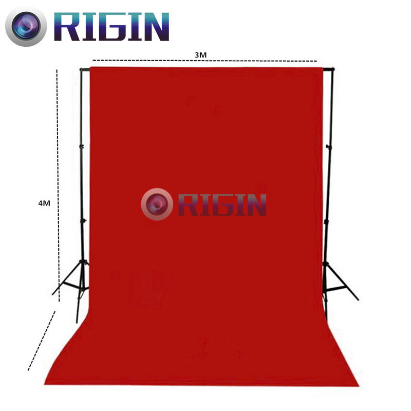 Red Color 4m*3m Portrait background non-woven cloth photo background cloth photography background cloth<br><br>Aliexpress