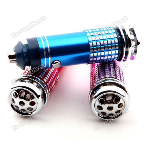 Lillianjake Lower price Mini Car Auto Fresh Air Purifier Oxygen Bar Ionizer Professional!(China (Mainland))