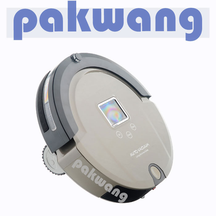 Only for Russian Thin Body Large Battery Intelligent ,desktop vacuum cleaner(China (Mainland))