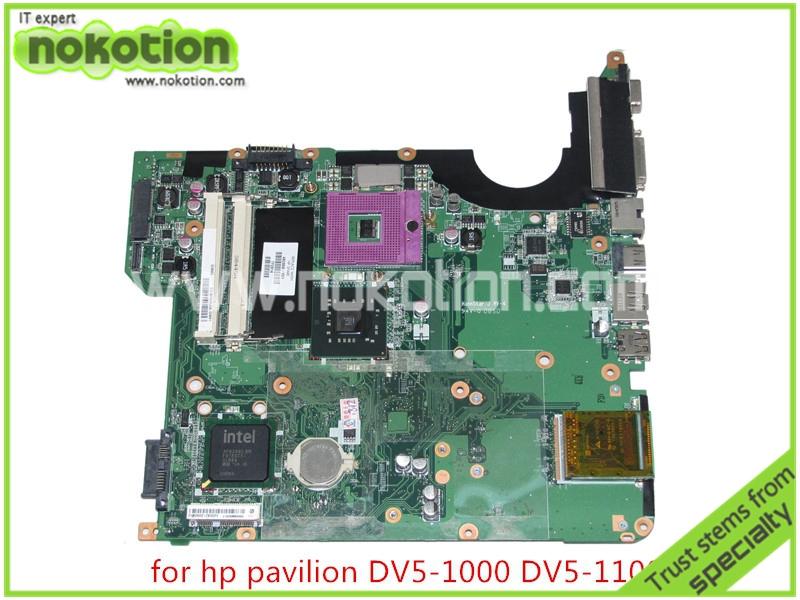 482868-001 For hp pavilion DV5-1000 DV5 laptop motherboard intel GM45 DDR2 Mainboard full tested