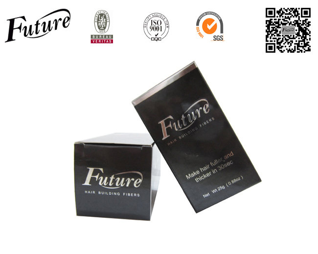 Future Brand Fiber Hair Keratin Building Powders Styling Hair Thinning Concealer Instantly 25g Blond/Gray/White 10colors(China (Mainland))