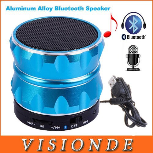 Ubit Wholesale 100Pcs/Lots Wireless Bluetooth Boombox Mini Speaker With Microphone FM Radio MP3 Aluminum Bluetooth Speakers<br><br>Aliexpress