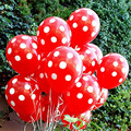 9 Colors 10pcs lot 12inch 2 8g Birthday Decoration Home Decor Latex Polka Dot Balloons For