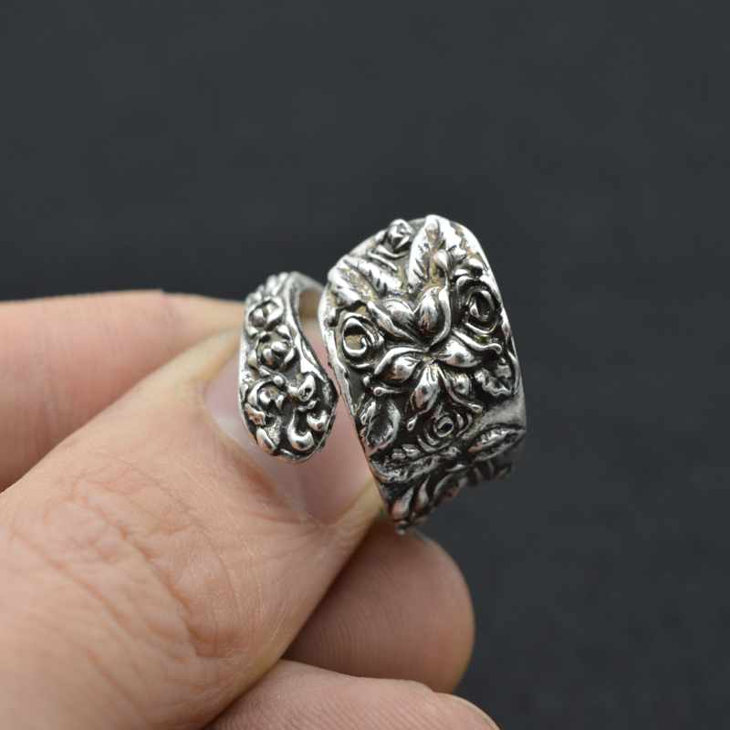 get cheap vintage spoon rings aliexpress
