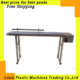 Free Shipping conveyor, band carrier, Belt conveyor for bottles/ food/ products 1m-2m customized moving belt, rotating table(China (Mainland))