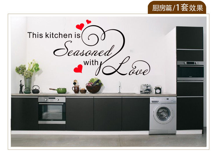 Popular Kitchen Wall Stencils Buy Cheap Kitchen Wall
