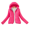 2017 children clothing winter girls jackets and coat cotton padded teenage girls winter coat hooded solid