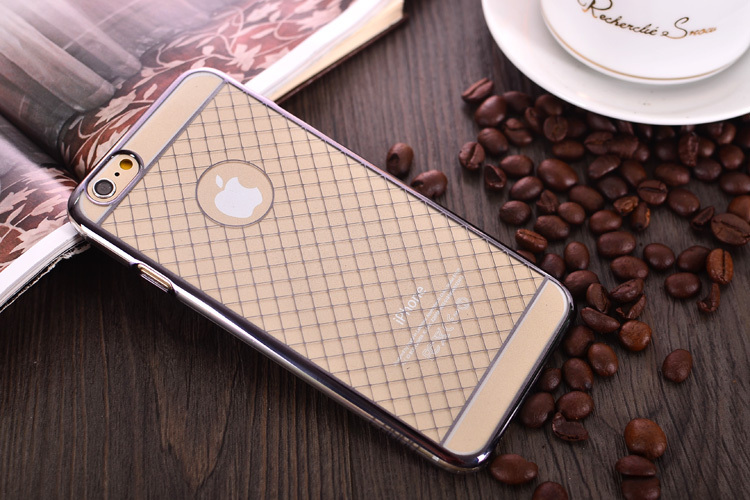 Bud silk mesh heavy dust proof Robot Electroplating process case cover for iPhone 6 4.7 Phone bag cover Free Shipping PGBS-008(China (Mainland))
