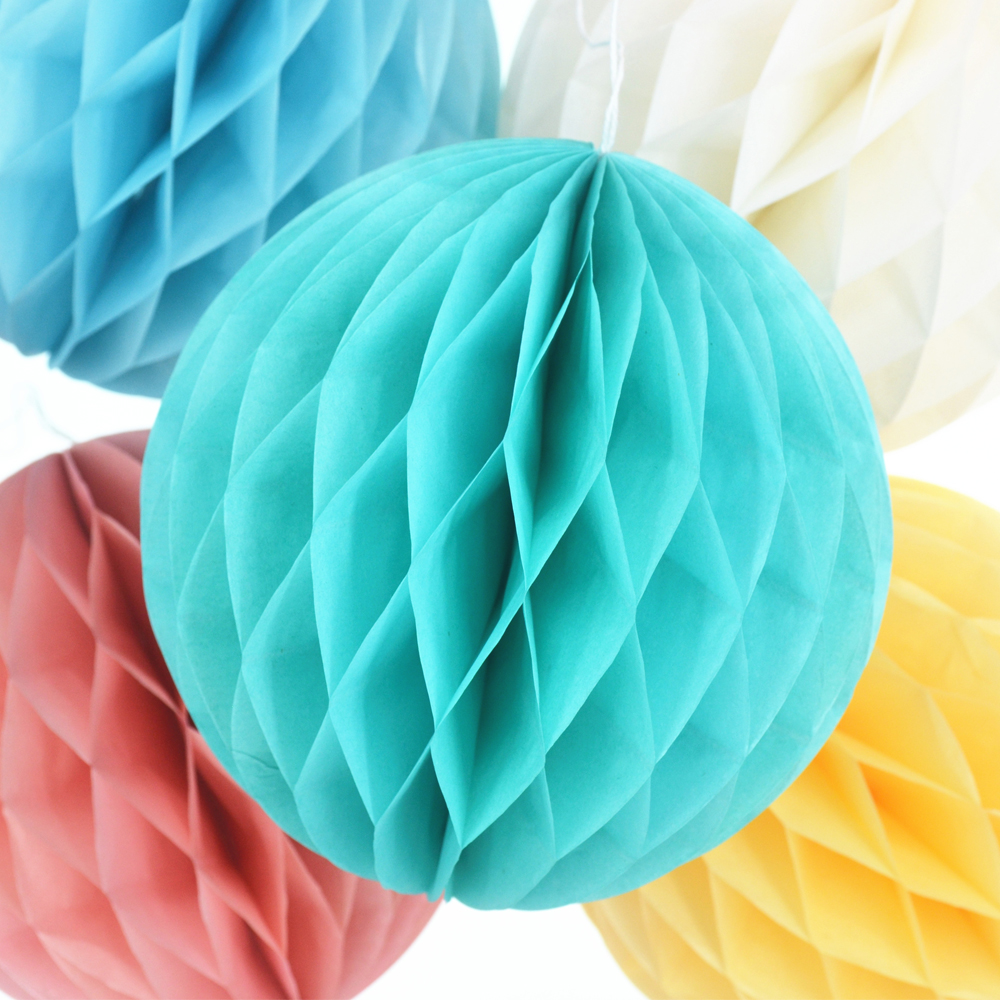 "6"" 8"" 10"" Honeycomb Paper Decorations Wedding Decoration Baby Shower Home Decoration Supplier Kids Birthday Party Decoration(China (Mainland))"