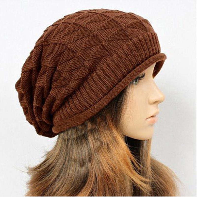 2PCS Fashion Winter Hat Men Beanie Knitted Casual Caps Twist Hats For Women Feminine Gorro Touca Hats And Caps Women Skullies(China (Mainland))