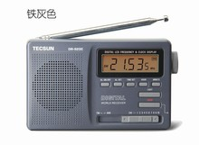 TECSUN DR-920 DIGITAL DISPLAY FM AM MW SW Stereo Multi 12 BAND RADIO receiver DR920 clock