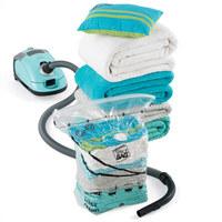 5pcs/lot Large Cube vacuum seal storage bag for bedding magic vacuum bag,