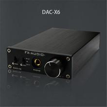 Buy FX-Audio Feixiang DAC-X6 HiFi amp Optical/Coaxial/USB DAC Mini Home Digital Audio Decoder Amplifier 24BIT/192 12V Power Supply for $64.99 in AliExpress store