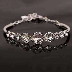Fashion crystal love bracelet luxury lovers gift women's accessories - NO.1 SHOPPING STORE store