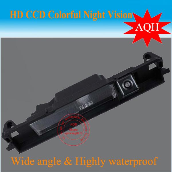 Free Shipping For Toyota Yaris/Vitz Camera Car Rear View Camera HD CCD Camera For Toyota Yaris 2006 - 2012(China (Mainland))