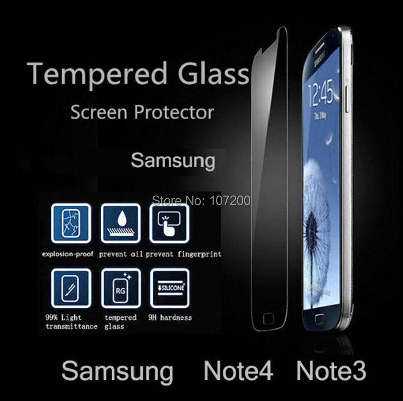 2.5D Samsung Galaxy Note 3 Note3 N9000 Tempered Glass Screen Protector, 9H Hardness, Anti-fingerprint, Anti-scratch - Lino Electronics Mall store