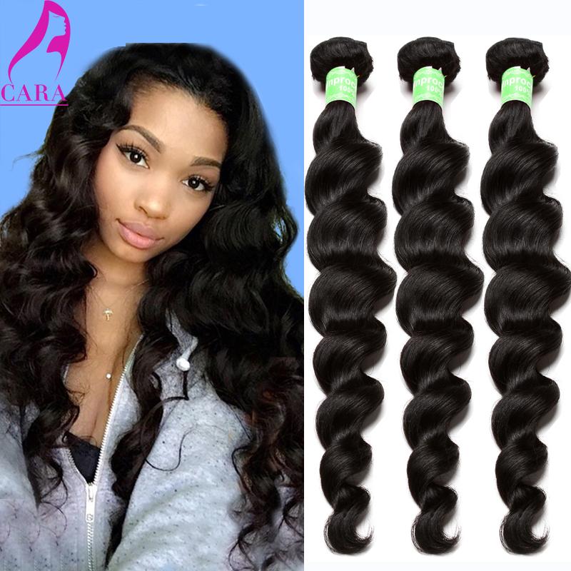 Rosa Hair Products Cambodian Virgin Hair Loose Wave Human Hair Weave 3Pcs 6A Cambodian Loose Wave Curly Virgin Hair Extension(China (Mainland))