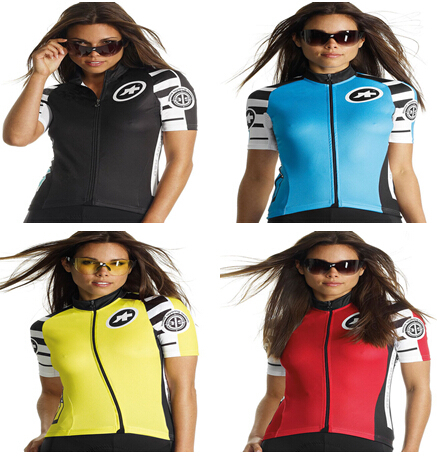New Assos SS.mangussta lady cycling jersey short for summer a lot of style bicycle clothes maillot ciclismo cycling women jersey(China (Mainland))
