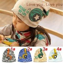 Beanies, Headphones Children Hats, Baby boy girl hat Spring hat caps Infant Cap Free Shipping 2014 KH013R(China (Mainland))