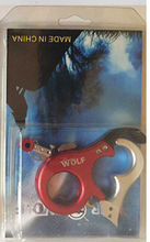 WOlLF Red Color stainless steel Archery Caliper Release for Compound Bow 440C Archery Arrows and Bow