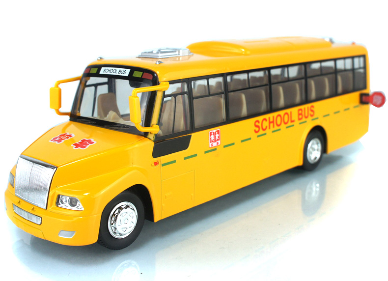 New The American school bus door color model of children's toys car alloy bus toy model Pull Back School Bus Alloy car models(China (Mainland))