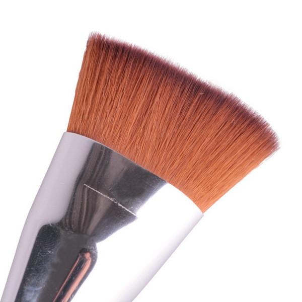 1 Pc plana contorno Bronzer destaque escova portátil cosméticos pincéis de maquiagem ferramenta para maquiagem