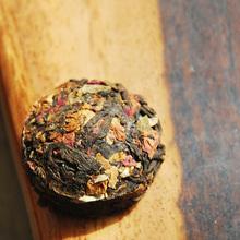 Hot Sale Rose Flavor Pu er Puerh Tea Chinese Mini Yunnan Puer Tea Green Slimming Coffee