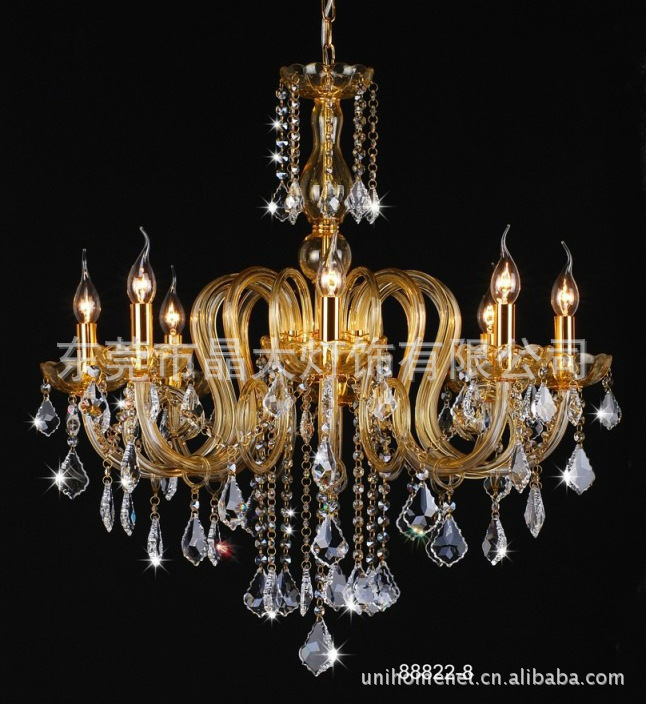 Pendant Lights Modern crystal lamps, low crystal lamp, --- engineering, clubs, hotels lighting supplier Crystal Lamp(China (Mainland))