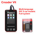 Free Shipping Professional Original LAUNCH Code Reader Creader VII Color Screen CReader 7 On line Update
