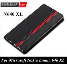 Чехол для Microsoft Nokia Lumia 640 XL, роскошь N640 XL бумажник стиль разноцветный верхний PYTHORE кожа чехол телефон с карта слот