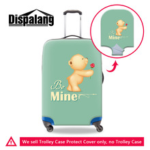 Buy Dispalang Travel Luggage Protective Dust Covers 18-30 Inch Trolley Case Mine Unique Valentines Present Suitcase Cover for $14.94 in AliExpress store
