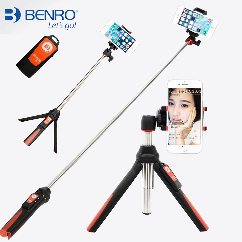buy benro handheld mini tripod 3 in 1 self portrait monopod phone selfie. Black Bedroom Furniture Sets. Home Design Ideas