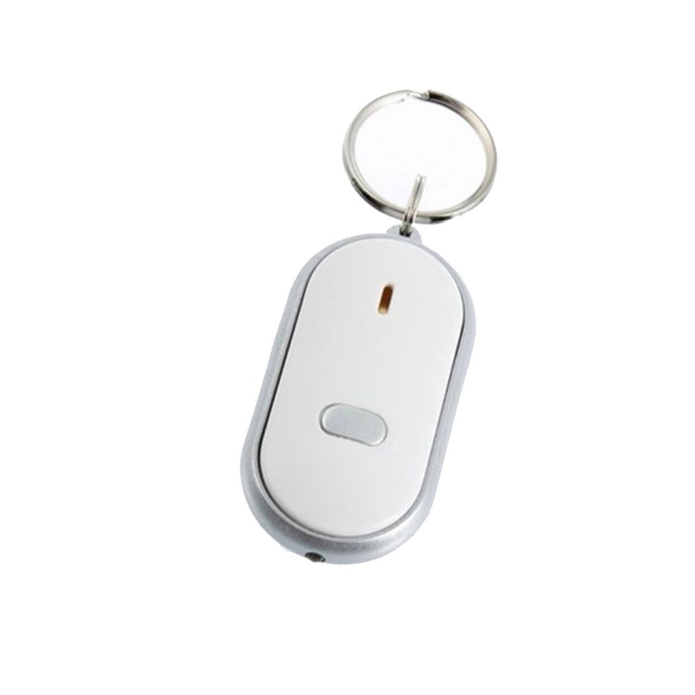 EDT-New LED Sound Control Torch Anti-Lost Lost Key Or Wallet Locator Finder Keyring