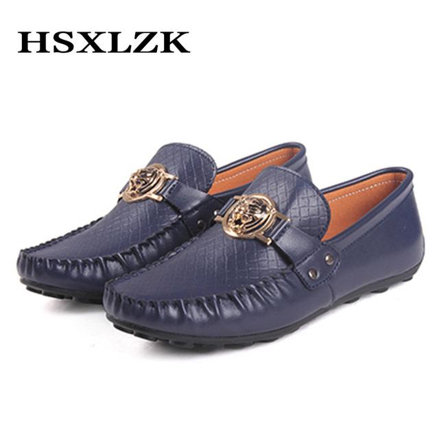 Мужчины мокасины обувь из натуральной кожи 2015 лучшее качество ручной работы мокасины ...