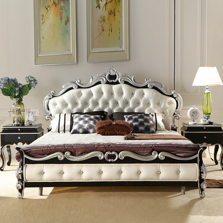 High Quality European Modern Bed 1 8 M Bedroom Furniture 9091 In Beds