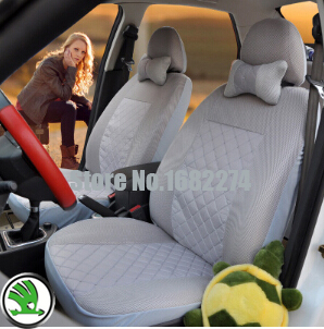 2 front seat  Universal car seat cover Skoda Octavia RS Fabia Superb Rapid Yeti Spaceback GreenLine Joyste Jeti car accessories<br><br>Aliexpress