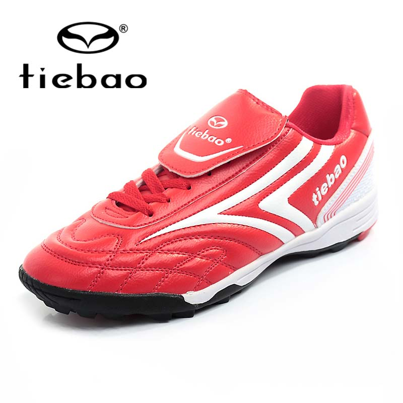 Tiebao Professional Unisex Outdoor Training Shoes Sport Adult Football Shoes Outdoor Brand Sports Shoes Turf Rubber Sole(China (Mainland))