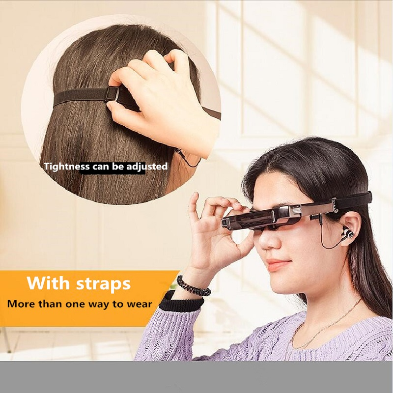 AR Augmented Reality Glasses Virtual Reality 3D VR Glasses HD Large Screen Smart Multimedia