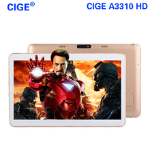 CIGE A3310 tablet android 5.1 10 inch Octa core bluetooth the tablet pcs call phone mobile GPS Dual SIM cameras tablets