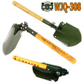 2017 chinese military shovel folding portable shovel WJQ 308 multifunctional camping shovels hunting edc outdoor survival