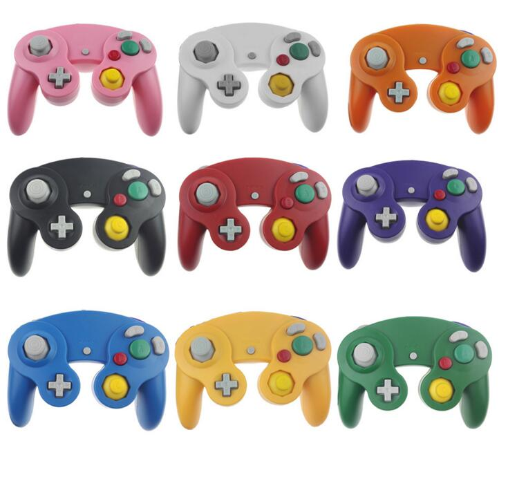 Brand New Wired Shock Game Controller for Nintendo GameCube NGC Wii Video Game(China (Mainland))