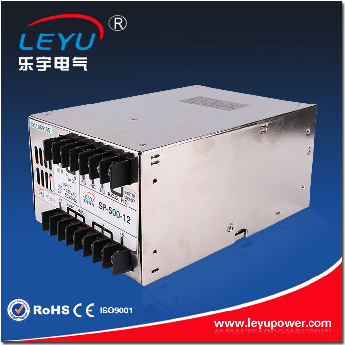 PFC function high efficiency 500w 12v power supply universal AC input SP-500-12 OEM available<br><br>Aliexpress