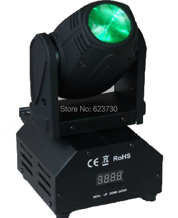 Freeshipping 10W 4in1 Cree RGBW LED Moving Head Beam,Mini Moving Head Beam Light With 110-240V For Xmas Holiday<br><br>Aliexpress