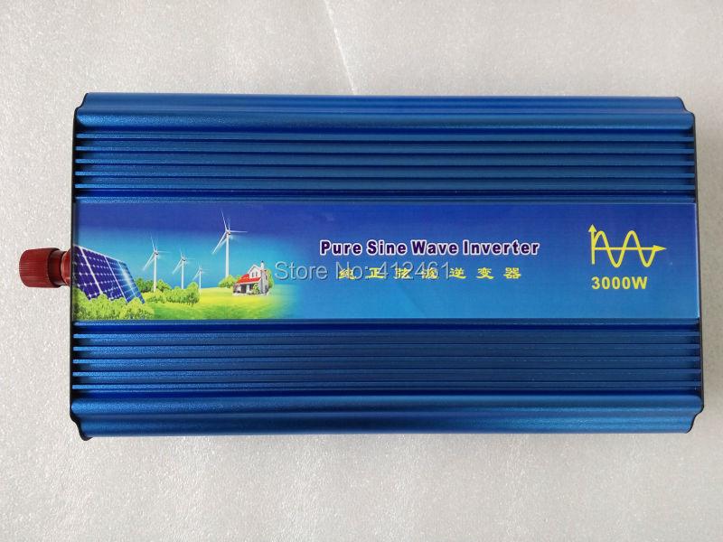 digital display 3000W Pure Sine Wave Inverter12V/24V to 220/240V Car Power Inverter Digital Display, FULL POWER, <br><br>Aliexpress