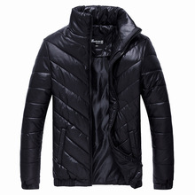 2014 Men's autumn and winter coat mandarin collar cotton padded jacket casual wadded jacket