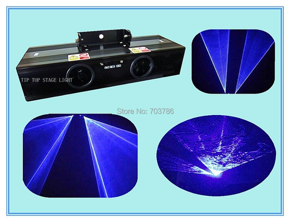 Dual Head 400mW Blue Color Laser Light Beam Effect,Professional Duel Blue Laser Light Hi-Quality Sound&DMX512 Laser Light(China (Mainland))